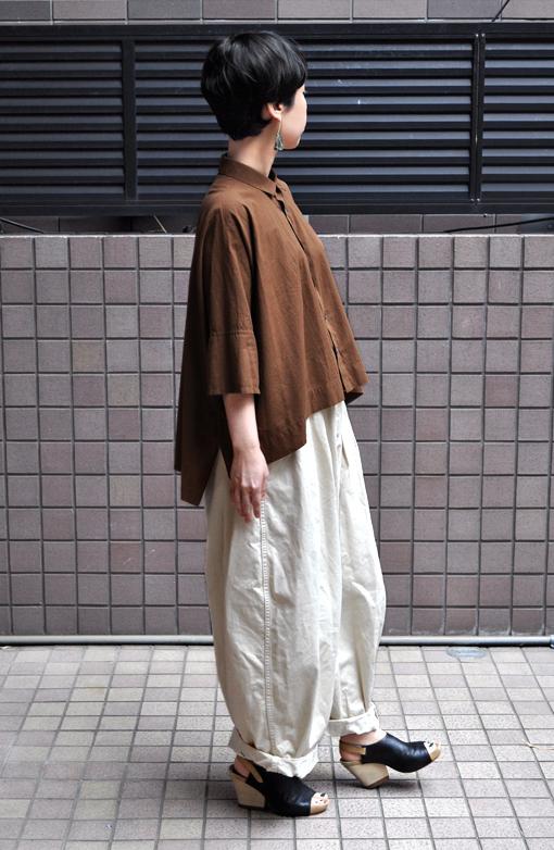 ペルー綿のカジュアルワイド半袖シャツ / FACTORY_d0193211_1717080.jpg