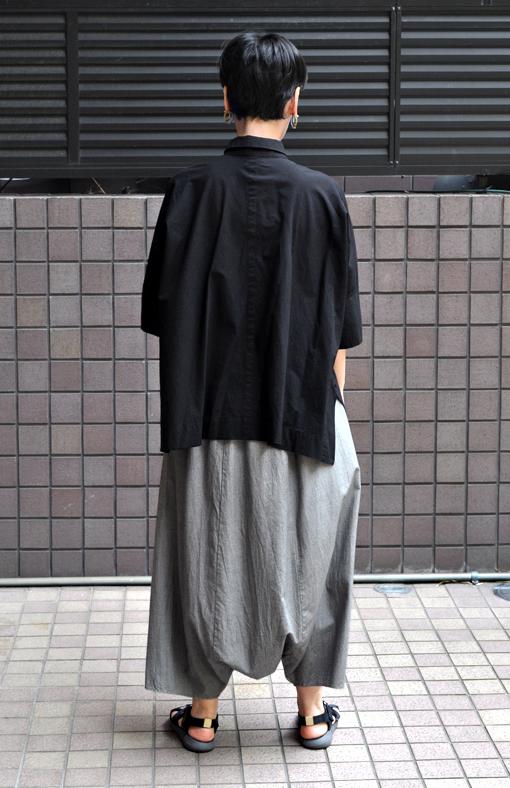 ペルー綿のカジュアルワイド半袖シャツ / FACTORY_d0193211_17172147.jpg