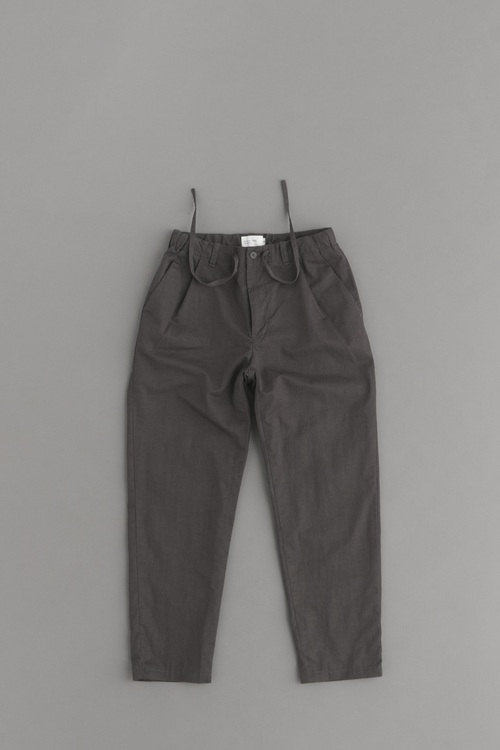 STILL BY HAND C/L Easy Pants (Charcoal)_d0120442_14335625.jpg
