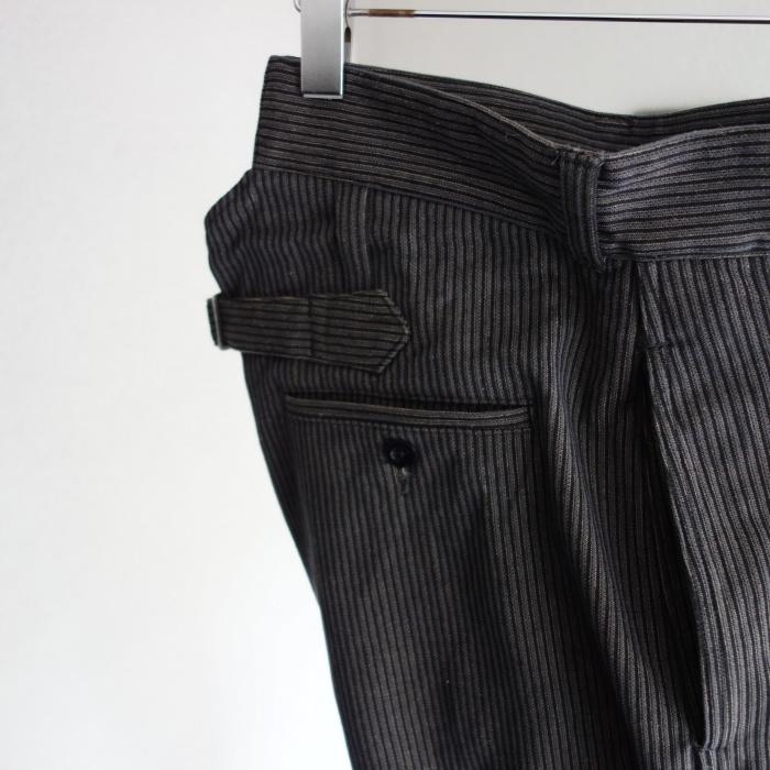 8月の製作 / classic frenchwork stripe jodhpurs_e0130546_16510232.jpg