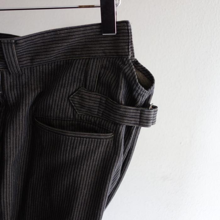 8月の製作 / classic frenchwork stripe jodhpurs_e0130546_16513576.jpg