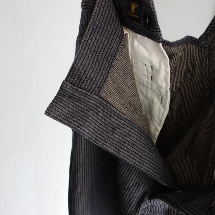 8月の製作 / classic frenchwork stripe jodhpurs_e0130546_16532343.jpg