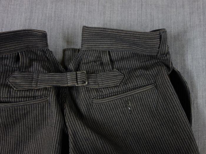 8月の製作 / classic frenchwork stripe jodhpurs_e0130546_16561434.jpg