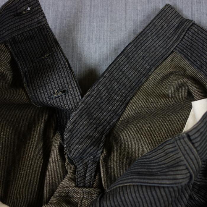 8月の製作 / classic frenchwork stripe jodhpurs_e0130546_16563729.jpg