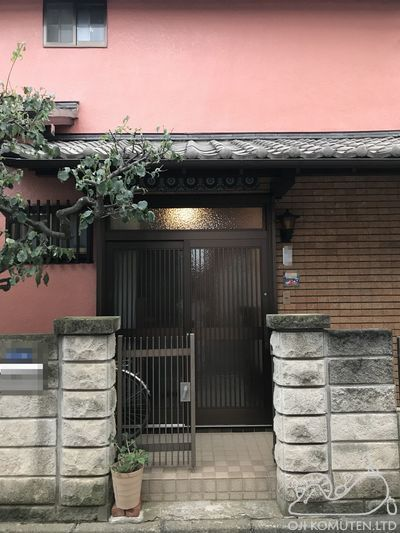 外壁をひがし茶屋街風にリニューアル_c0405550_17093425.jpg