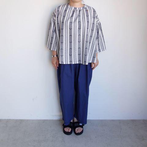 Slow Hands : Dobby stripe blouse_a0234452_12462101.jpg