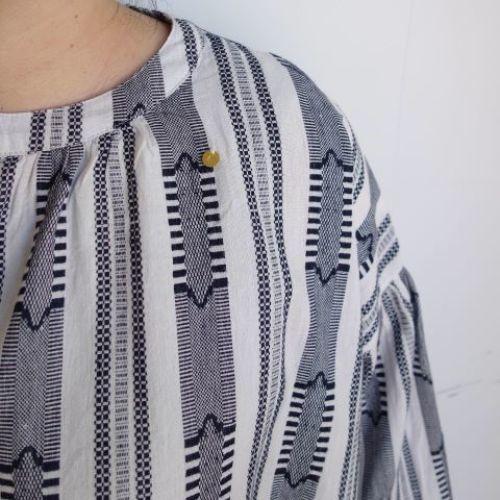 Slow Hands : Dobby stripe blouse_a0234452_12463002.jpg