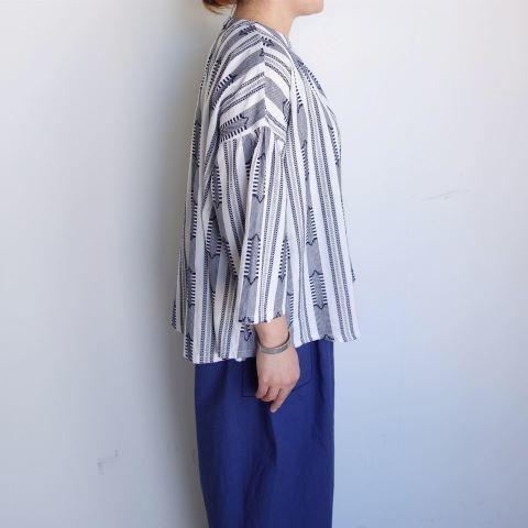 Slow Hands : Dobby stripe blouse_a0234452_12464218.jpg