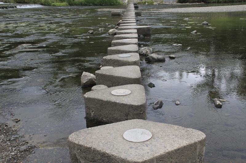 鴨川の飛び石_c0131875_20273072.jpg