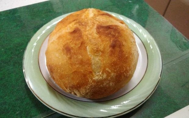 初挑戦、長男のパン作り_f0153475_18515467.jpg