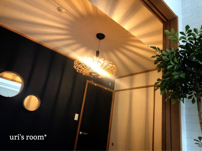 和室の照明、変えました!ビフォーアフター!_a0341288_22063852.jpg
