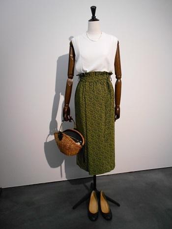 花柄スカートを主役に♪♪【TERMINAL】_e0193499_13172311.jpg