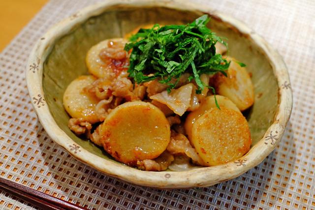 豚肉と長芋の梅ガーリック焼き_f0179404_09141172.jpg