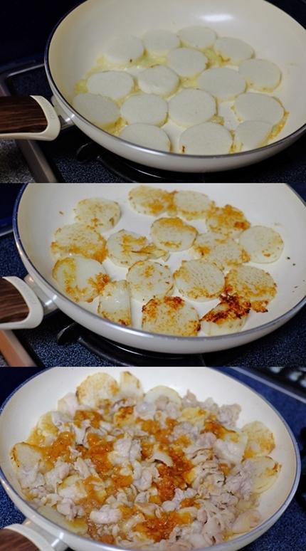 豚肉と長芋の梅ガーリック焼き_f0179404_09234858.jpg