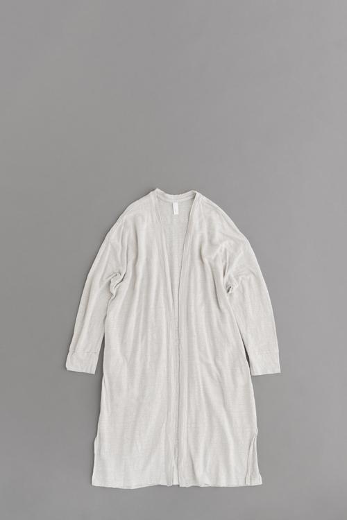 prit 40/1 Linen Long Cardigan (Light Gray)_d0120442_13134944.jpg