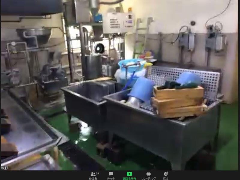 楽しくて美味しい、オンライン豆腐工場見学でした_c0060143_23270690.jpg