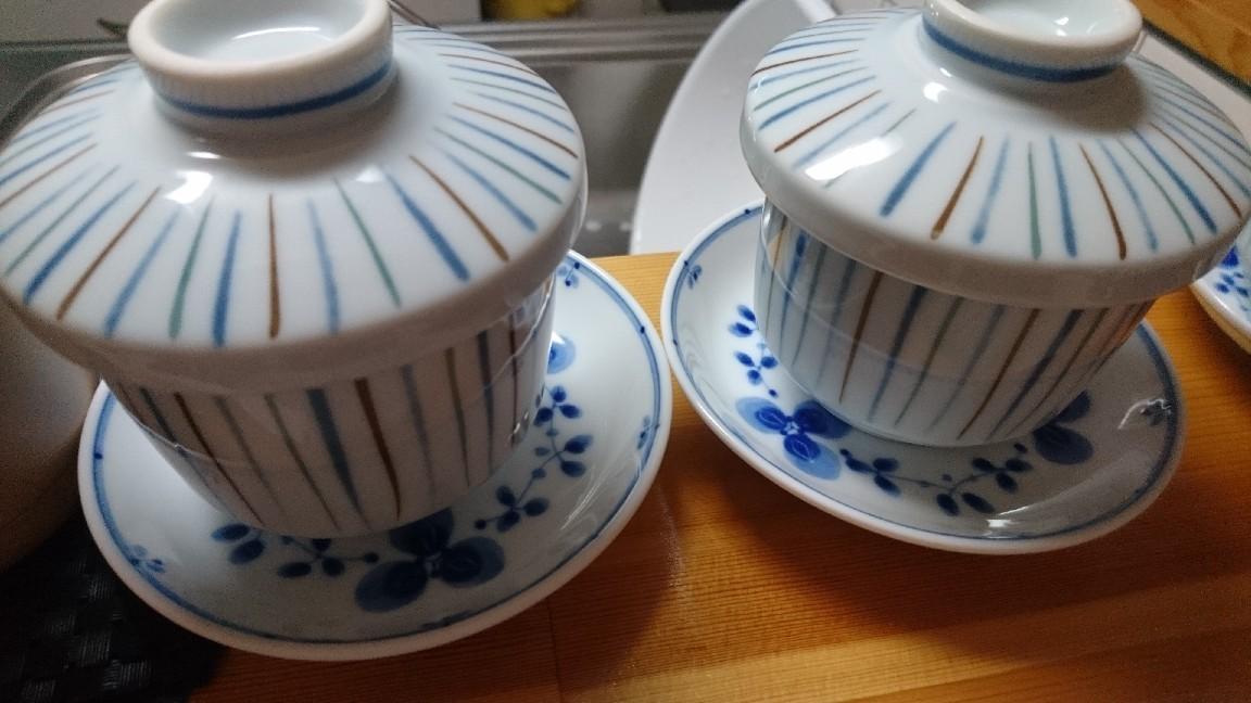 茶碗蒸し、唐揚げ、ポテトフライ出来ました!_b0106766_08444092.jpg