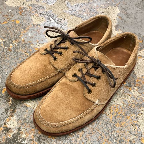 ◇ L.L.BEAN Suede Deck Shoes Made in USA & オンラインストア ◇_c0059778_06532441.jpg
