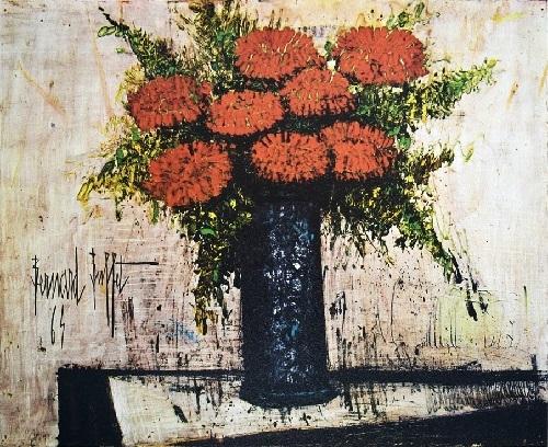 ベルナール・ビュフェの赤い花束_c0084183_12431787.jpg
