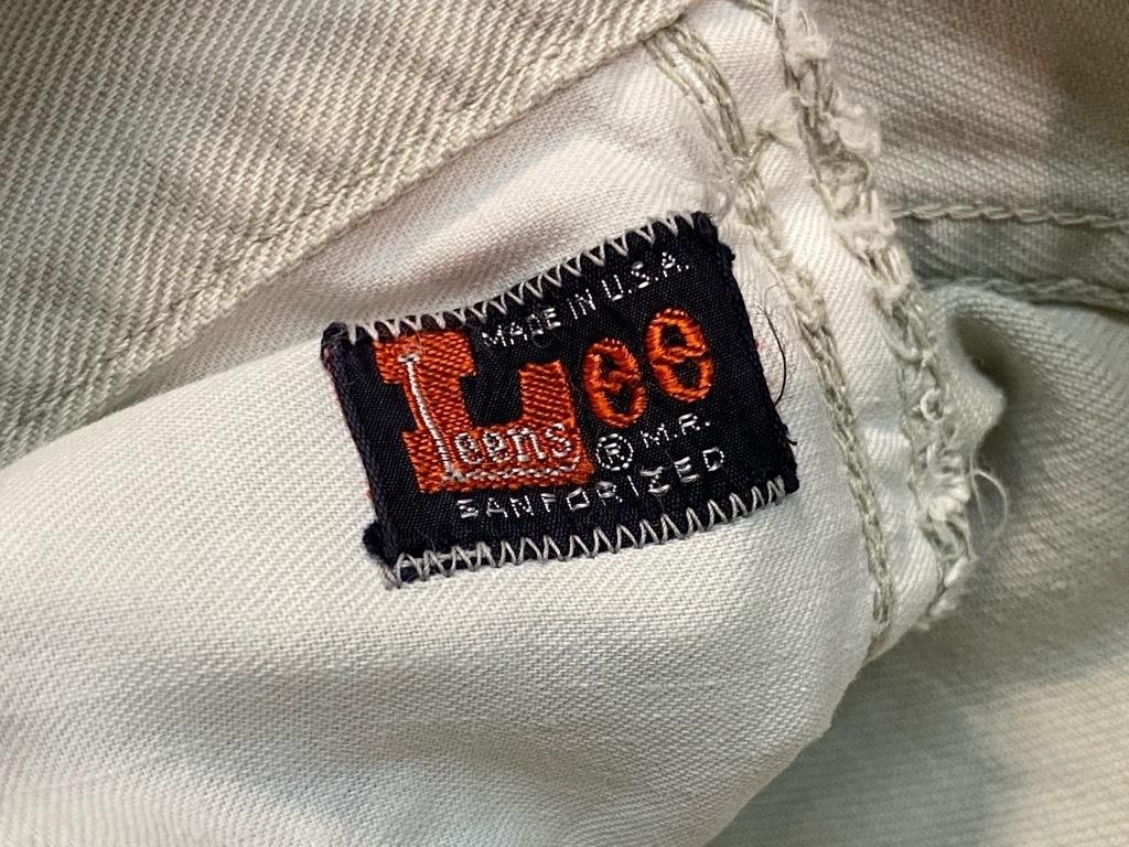 6月17日(水)マグネッツ大阪店ヴィンテージボトムス入荷第2章Part2!! #1 Lee 101Z CenterRedLabel、SideBlackLabel & Leens!!_c0078587_20084551.jpg