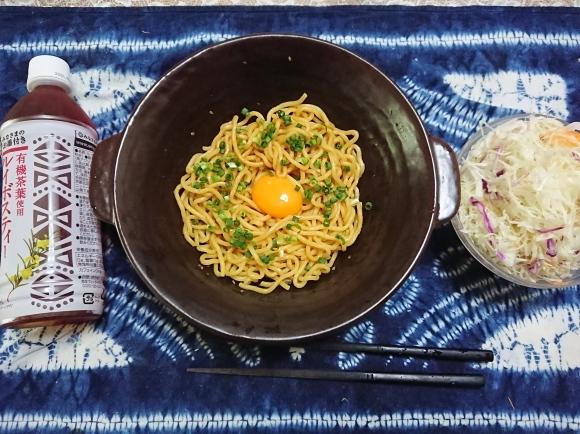 6/15 焼そば麺を使って簡単油そば@自宅_b0042308_12292417.jpg