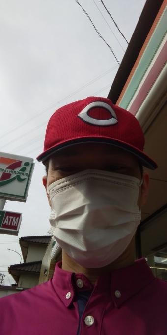 本日もアベノマスクよりコンビニのマスクで介護現場に出勤です!_e0094315_08003018.jpg