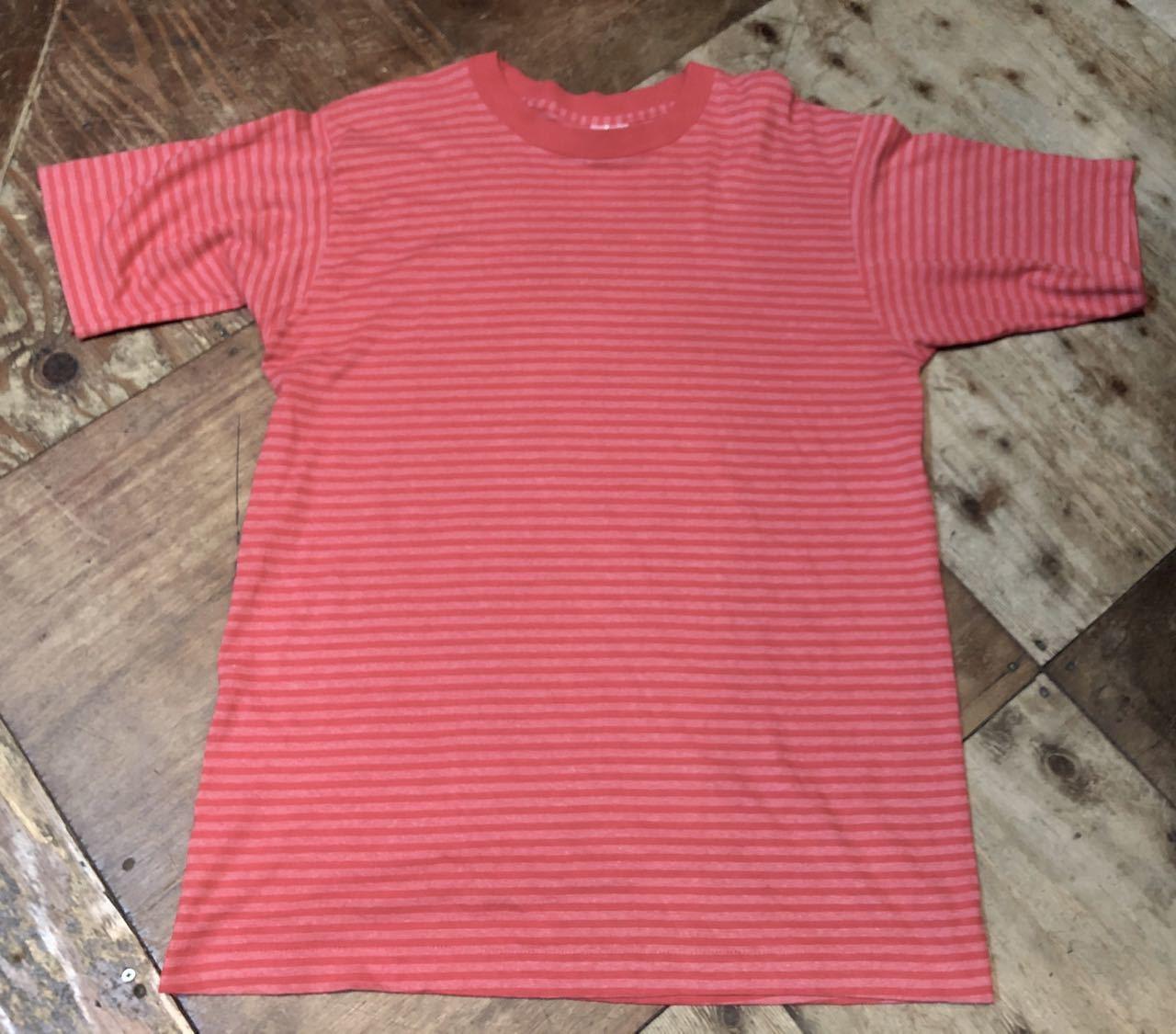 90s〜MADE IN U.S.A B.V.D ボーダーTシャツ!_c0144020_13030150.jpg