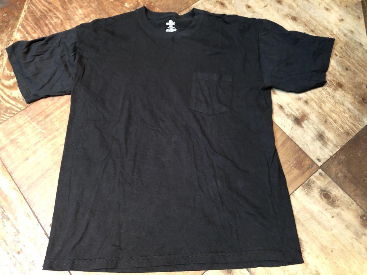 all cotton STAFFORD ブラック ポケットTシャツ!_c0144020_13034386.jpg