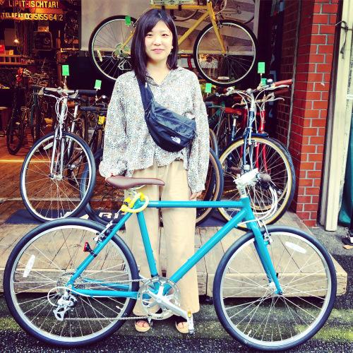 ☆限定色大人気 ライトウェイ特集☆自転車女子 自転車ガール 自転車ボーイ クロスバイク ライトウェイ おしゃれ自転車 マリン ターン シェファード パスチャー スタイルス_b0212032_16182507.jpeg