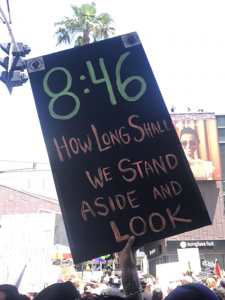 BLM LAプライド版デモ in West Hollywood_d0003936_13041784.jpeg