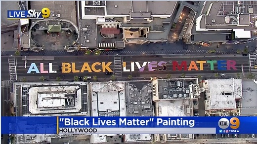 BLM LAプライド版デモ in West Hollywood_d0003936_15313700.jpg