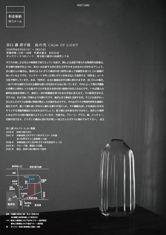 「谷口 嘉 硝子展 凪の光」8日目_d0087761_938183.jpg