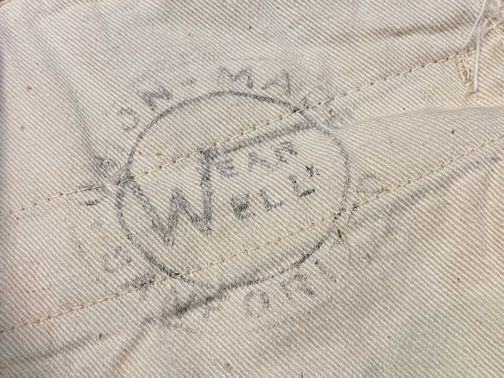 6月17日(水)マグネッツ大阪店ヴィンテージボトムス入荷第2章Part2!! #3 CottonWorkPants!! BuckleBack & HBT、Pique!!_c0078587_13245710.jpg