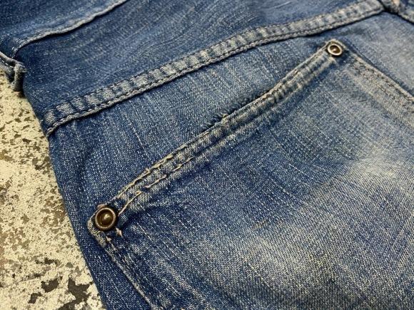 6月17日(水)マグネッツ大阪店ヴィンテージボトムス入荷第2章Part2!!#4 DenimPainterPants!!GO-PFOR&BLUE BELL,ButtonFly,BuckleBack!_c0078587_16171276.jpg