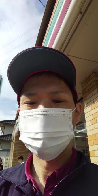 本日もアベノマスクよりコンビニのマスクで介護現場から出勤です!_e0094315_08020225.jpg