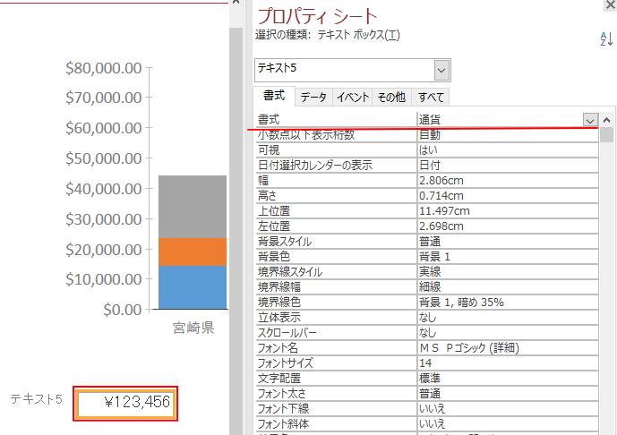 Access2019のモダングラフの数値軸に「通貨」書式を選択すると¥記号が表示されない_a0030830_21394189.png