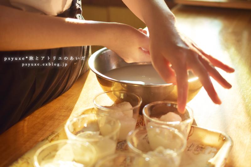 あんこときな粉のミルク餅_e0131432_17275119.jpg