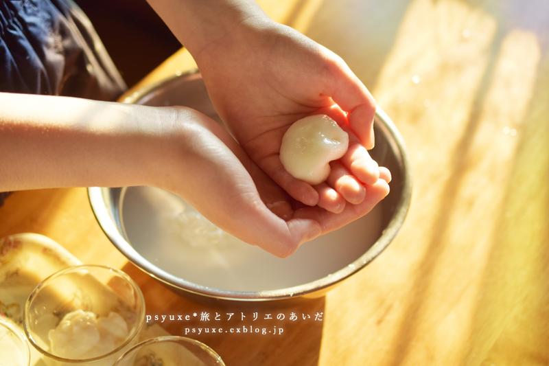 あんこときな粉のミルク餅_e0131432_17275608.jpg