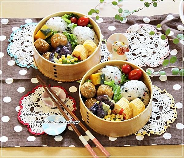 肉団子弁当とアナベル♪_f0348032_16101708.jpg