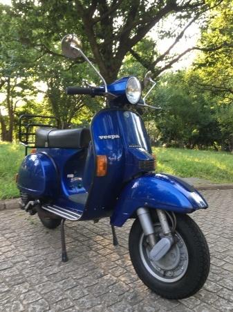 1994 Vespa PX200 BME  ブルーメタ 2400km !_f0123137_17204459.jpg