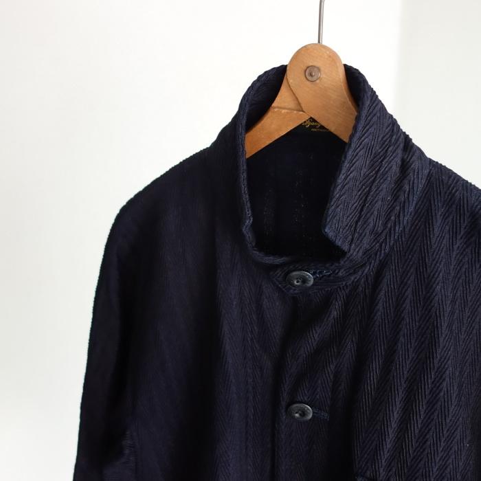 8月の製作 / classic farmers indigo coat_e0130546_16063139.jpg