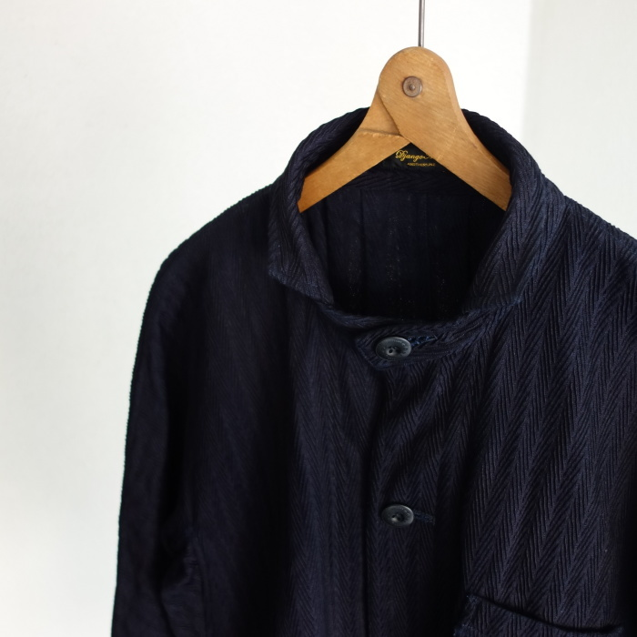 8月の製作 / classic farmers indigo coat_e0130546_16064767.jpg