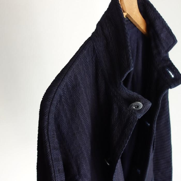 8月の製作 / classic farmers indigo coat_e0130546_16073032.jpg