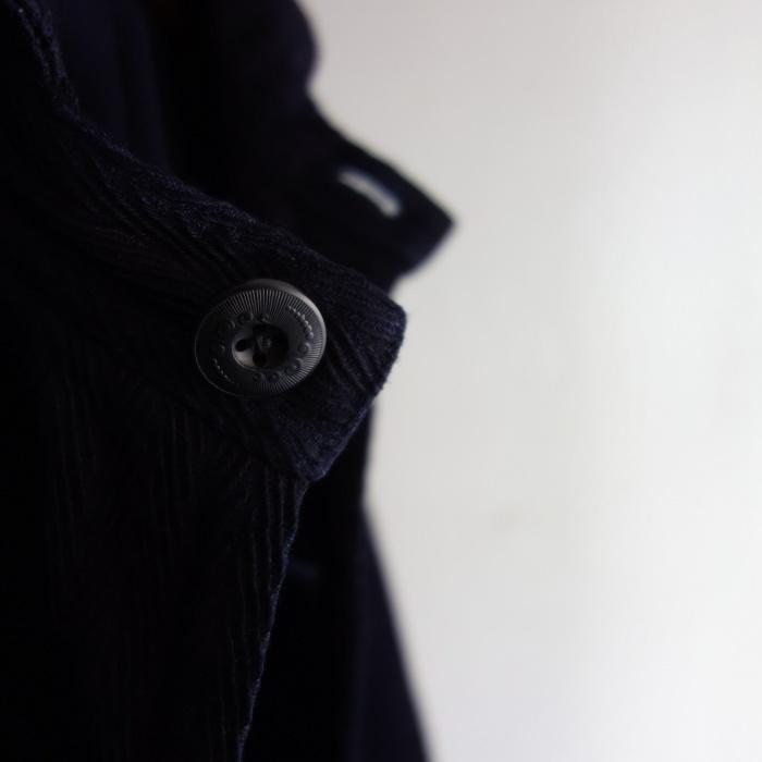 8月の製作 / classic farmers indigo coat_e0130546_16074701.jpg