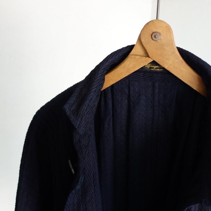 8月の製作 / classic farmers indigo coat_e0130546_16082077.jpg