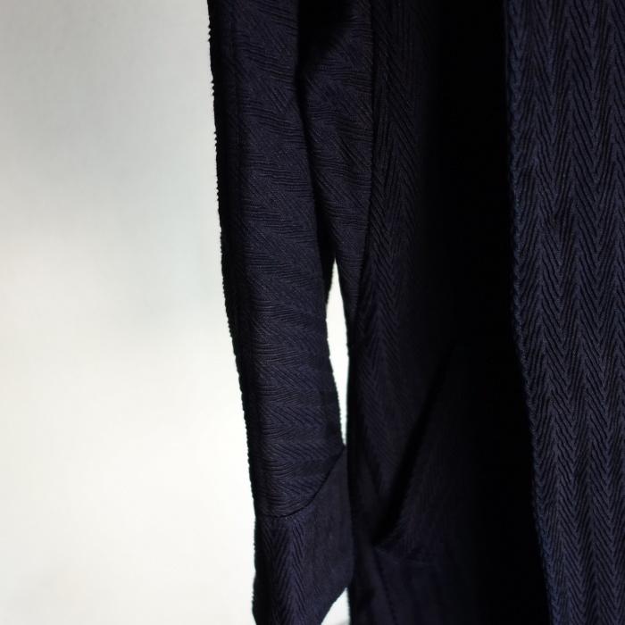 8月の製作 / classic farmers indigo coat_e0130546_16091894.jpg