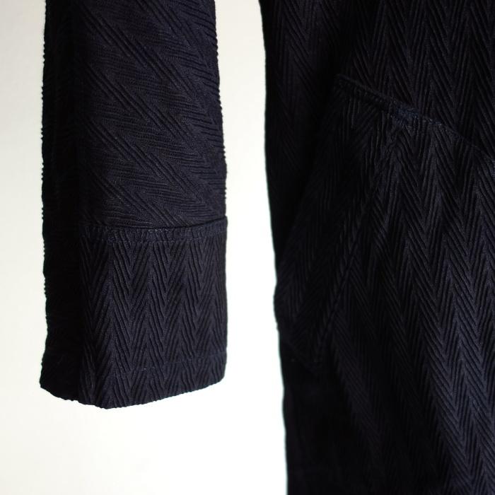 8月の製作 / classic farmers indigo coat_e0130546_16093770.jpg