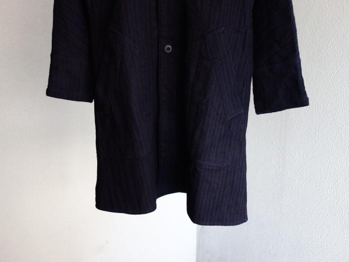 8月の製作 / classic farmers indigo coat_e0130546_16095661.jpg
