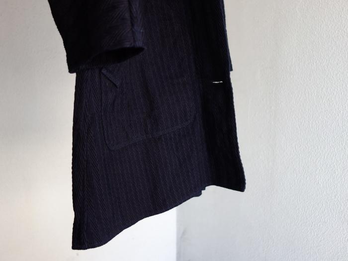 8月の製作 / classic farmers indigo coat_e0130546_16101519.jpg