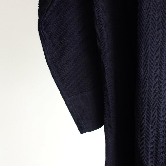 8月の製作 / classic farmers indigo coat_e0130546_16110644.jpg